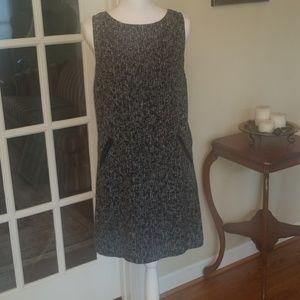 Black AT LOFT career dress size 6